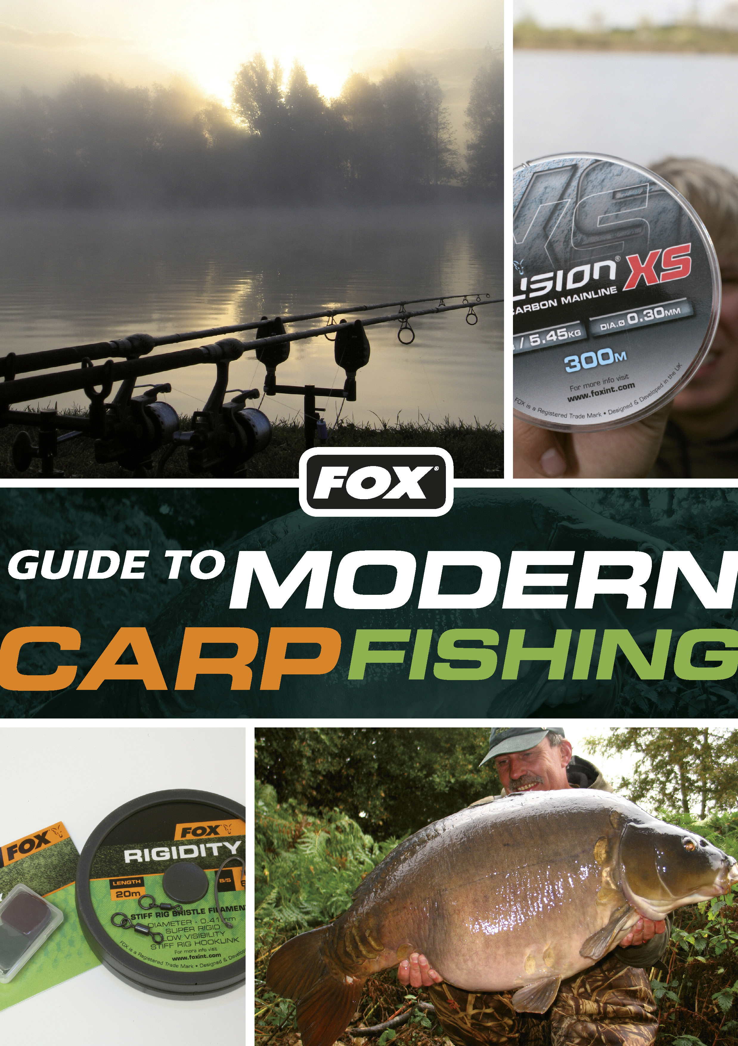 Fox guide to modern carp fishing paperback for Colorado fishing guide