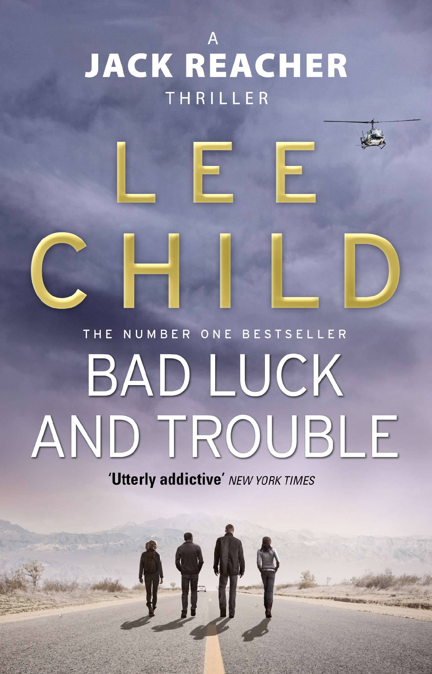 Book Cover Black Jack ~ Lee child bad luck and trouble jack reacher